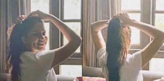 Lavanya's logic: Messy hair don't care!