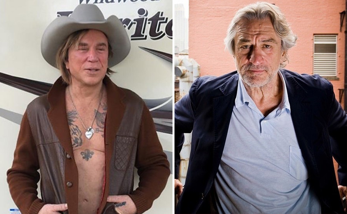 Mickey Rourke Posts A Picture Of Robert De Niro, Calls Him A 'Big F*king Crybaby'