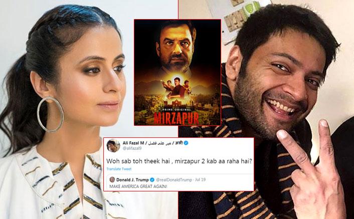 Mirzapur 2 EXCLUSIVE! Rasika Dugal Talks About Release Date & Ali Fazal's Funny Tweet To Donald Trump
