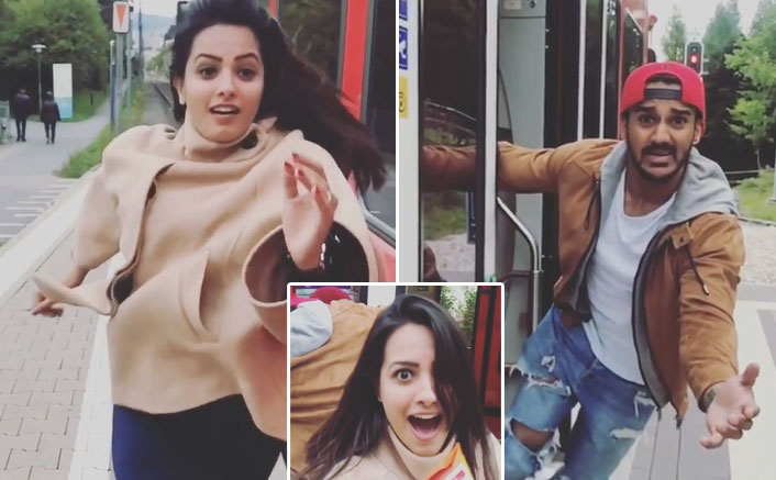 Naagin 4 Actress Anita Hassanandani Recreates DDLJ's Iconic Train Scene With A Shoutout To TikTokers, Check Out