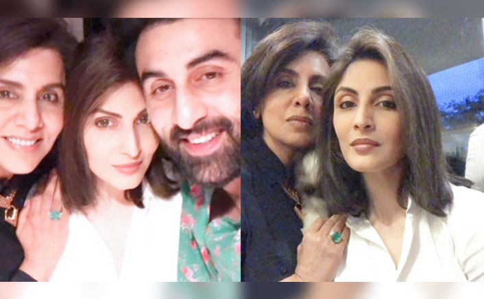 Neetu Kapoor Celebrates Her Birthday With Children Riddhima Sahni & Ranbir Kapoor, See Pics!(Pic credit: riddhimakapoorsahniofficial/Instagram)