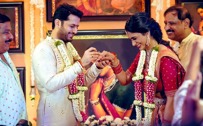 Nithiin Gets Engaged To Fiance Shalini Ahead Of Their Lockdown Wedding Later This Month, Fans Pour In Best Wishes For The Couple(Pic credit: Instagram/actor_nithiin)