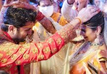 Nithiin Ties Knot To Long Time Girlfriend Shalini At Hyderabad Amid Lockdown, See Pics
