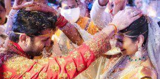 Nithiin Ties Knot To Long Time Girlfriend Shalini At Hyderabad Amid Lockdown, See Pics