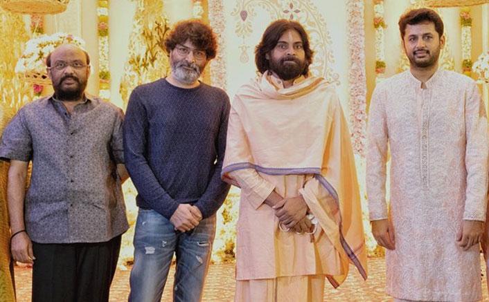 Pawan Kalyan & Filmmaker Trivikram Srinivas Grace Actor Nithiin's Pelli Koduku Function With Their Presence