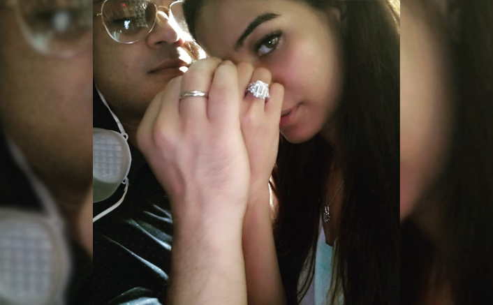 Poonam Pandey Is Engaged! Fiance Sam Bombay Gives A Glimpse To The Big Rock!