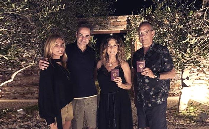 Post Tom Hanks & Rita Wilson Getting Greece Citizenship, PM Kyriakos Mitsotakis Receives Criticism