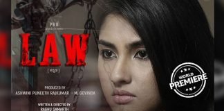 Ragini Chandran gives intense look in new poster of 'Law'