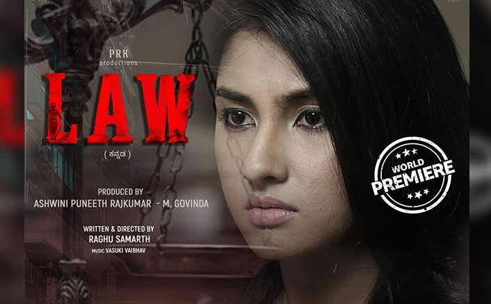 Law New Poster Out: Ragini Chandran Gets Intense For The Upcoming Legal Kannada Drama