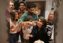 Ranbir Kapoor Gives A Warm Hug To Mom Neetu Kapoor On Her 62nd Birthday, Karan Johar Along With Others Joins The Celebrations