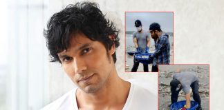 Randeep Hooda Goes Beach Cleaning In Mumbai Amid Heavy Rains & A Pandemic