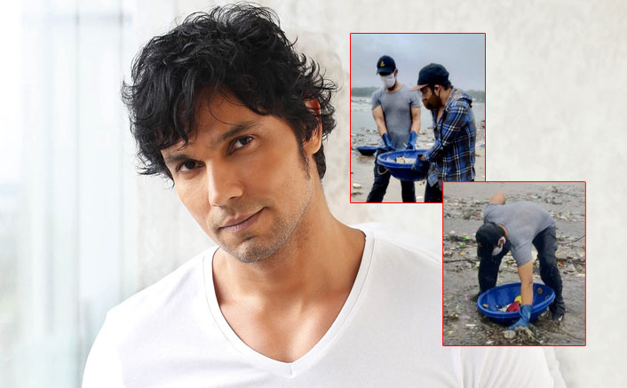 Randeep Hooda Goes Beach Cleaning In Mumbai Amid Heavy Rains & Ongoing Pandemic