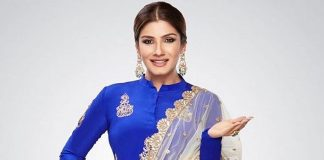 Raveena Tandon shoots at home amid Covid-19 pandemic
