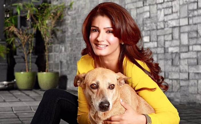 Raveena Tandon Has A Special Request To Her Fans & It's Pawdorable!