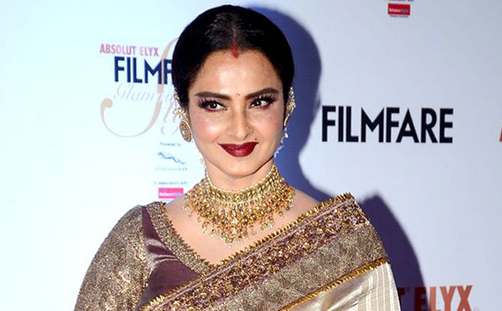Rekha NOT Willing To Get Tested For COVID-19, Didn't Allow BMC Officials To Enter Her Bunglow?