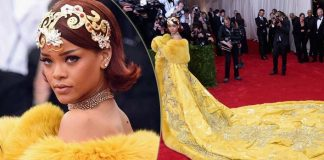 Rihanna Felt Like A Clown, Was Scared To Get Out Of The Car In Her Iconic 2015 Met Gala Dress