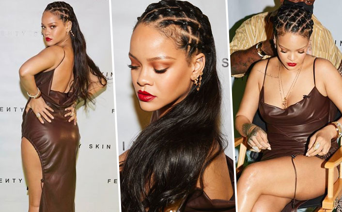 Rihanna's Face Shines Bright Like A DIAMOND At The Pre-Launch Party Of Fenty Skin!