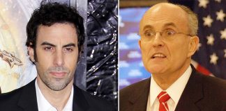 Rudy Giuliani Calls Police on Bikini-Clad Prankster Sacha Baron Cohen