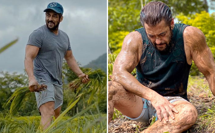 Salman Khan Showcases His Bare HUGE Muscles In A Soil-Clad Picture Paying Tribute To Farmers Yet Again