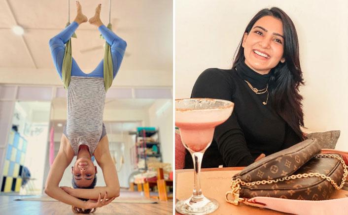Samantha Akkineni Congratulates Fans With An Arial Yoga Glimpse