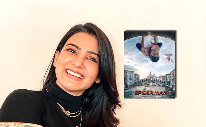 Samantha Akkineni Turns Spider-Man By Photoshopping The Official Poster Of The Film & It's All Things Hilarious