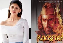 Sanjana Sanghi recalls being a part of 'Rockstar'