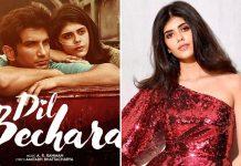 Sanjana Sanghi's Bengali makeover for 'Dil Bechara'