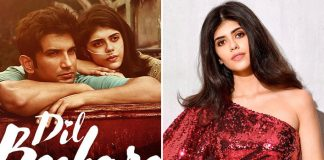 Sanjana Sanghi's Bengali makeover for 'Dil Bechara'