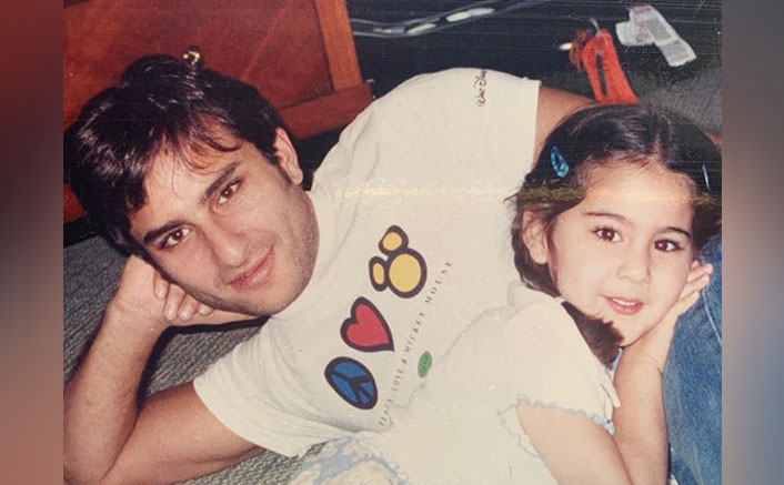 Sara Ali Khan Labels Dad Saif Ali Khan As Her 'Mickey Mouse'
