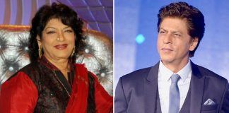 Shah Rukh Khan pays tribute to Saroj Khan