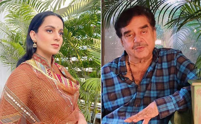 """Shatrughan Sinha Backs Kangana Ranaut In Fight Against Bollywood: """"Most People Are Jealous Of Her Success & Bravery"""""""