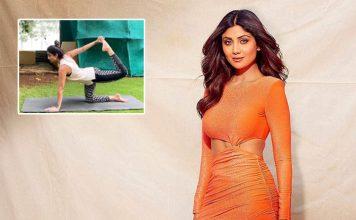 Shilpa Shetty's yoga tips to beat lockdown muscle stress