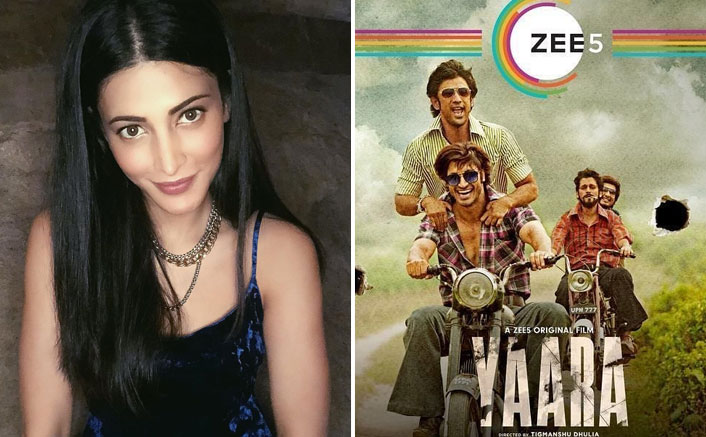 Shruti Haasan excited to be only woman in 'Yaara' narrative of four boys