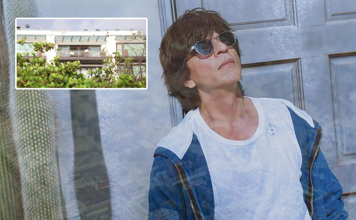 Shah Rukh Khan Covers His Bungalow Mannat With Plastic, Check Out Viral Pic