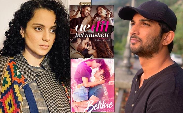 "Kangana Ranaut On Sushant Singh Rajput Case: ""How Long Will We Watch Movies Like Ae Dil Hai Mushkil & Befikre?"