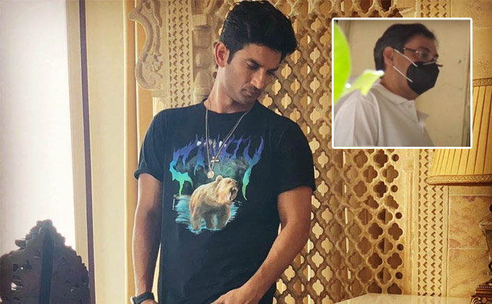 Sushant Singh Rajput Death Row: Filmmaker Rumi Jaaferi Visits Bandra Police Station To Record His Statement, Watch Video!(Pic credit: Instagram/sushantsinghrajput)