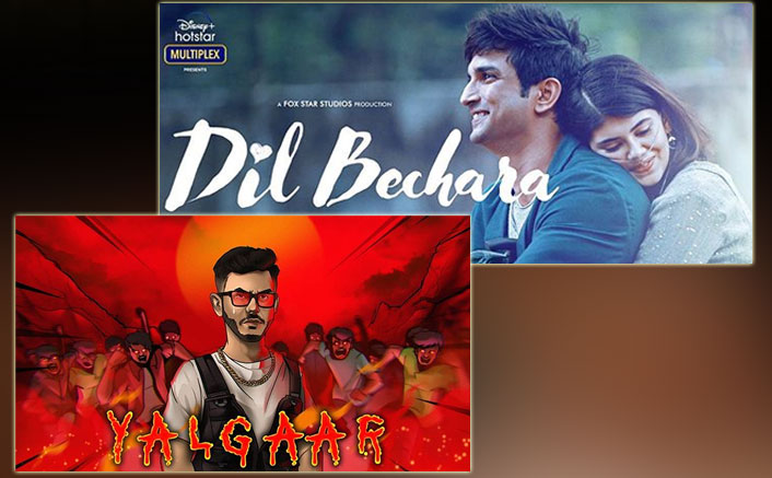 Sushant Singh Rajput's Dil Bechara Is All Set To BEAT CarryMinati's Yalgaar & Rewrite HISTORY