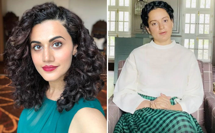 "Taapsee Pannu's BEFITTING Reply To Kangana Ranaut: ""Refuse To Take Advantage Of Someone's Death For Personal Vendetta"""