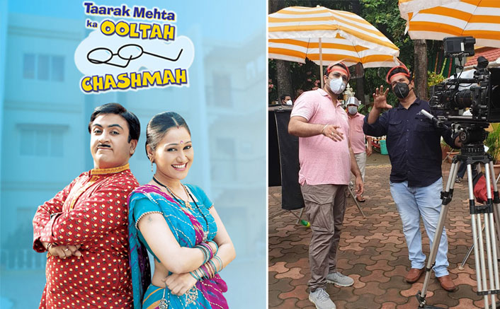 Taarak Mehta Ka Ooltah Chashmah Cast FINALLY Starts Shooting Again!(Pic credit: malavrajda/Instagram)