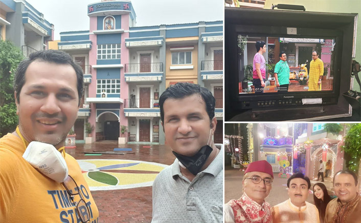 Taarak Mehta Ka Ooltah Chashmah: BTS Photo Of Jethalal, Tapu & Bhide OUT; Director Malav Rajda Posts With A Cute Caption
