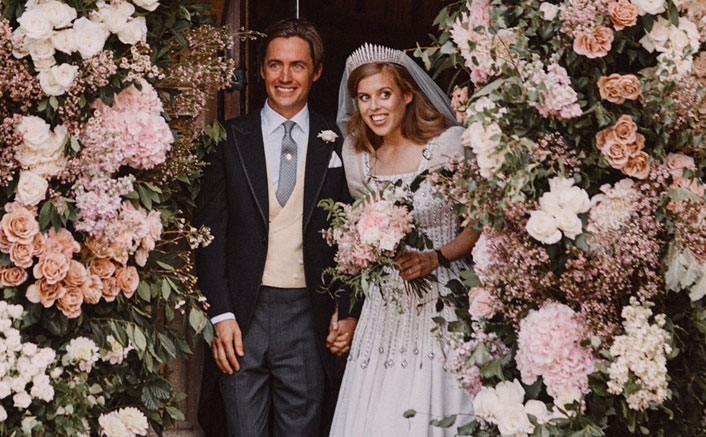 Take A Look At The First Pictures From Princess Beatrice & Edoardo Mapelli Mozzi's Wedding Day