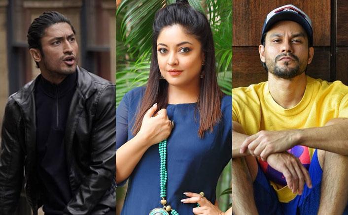"Tanushree Dutta Stands With Vidyut Jammwal & Kunal Kemmu: ""Is It So Hard To Show Some Encouragement & Appreciation??""(Pic credit: iamtanushreeduttaofficial/Instagram mevidyutjammwal/Instagram khemster2/Instagram)"