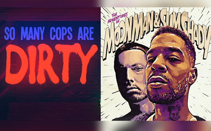 The Adventures Of Moon Man And Slim Shady: Kid Cudi & Eminem Call Out 'Dirty Cops' Who Killed George Floyd & It's Amazeballs!