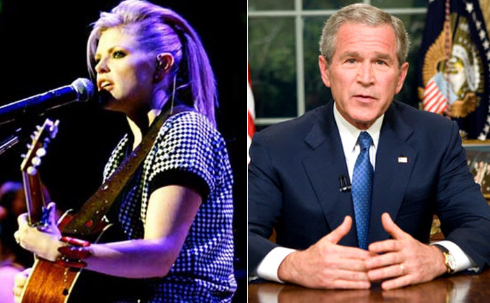"""WHAT! The Chicks Fame Natalie Maines: """"I Might Make Out With George Bush"""""""