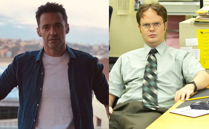 The Office's 'Dwight' Rainn Wilson As Wolverine? Hugh Jackman Calls It HOT, See Pic(Pic credit: thehughjackman/Instagram)