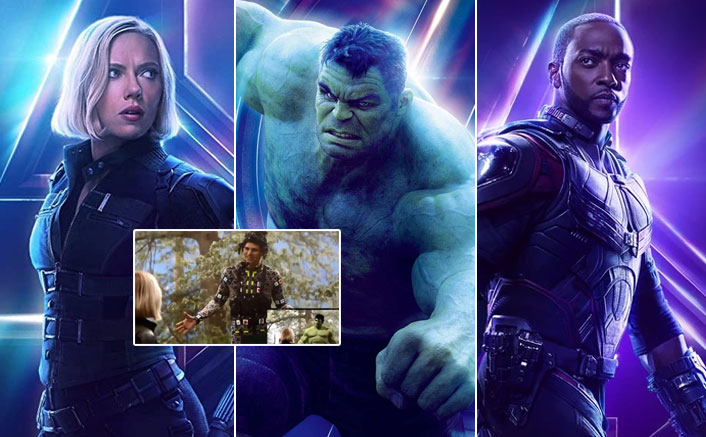 This Avengers: Infinity War Deleted Scene Featuring Hulk, Black Widow & Falcon Has Left The Netizens Fuming