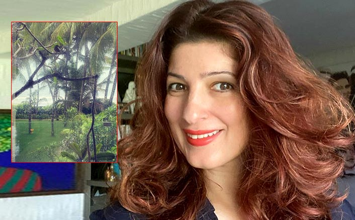 Twinkle Khanna discovers her 'world is filled with creatures'