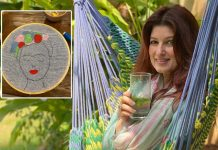 Twinkle Khanna tries embroidery after nearly 20 years