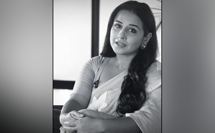 Vidya Balan Dedicates A Beautiful Poem To All The Daughters Of India Through This Monochromatic Video