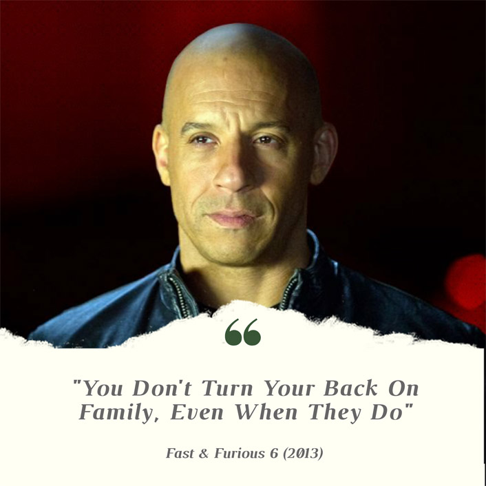 Vin Diesel's Dom From Fast & Furious 6 Is Here To Bless Your Feed With Some #MondayMotivation